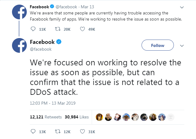 Facebook Is Down And Whatsapp Is Struggling Silicon Soup